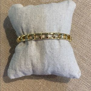 Stella & Dot Cage Cuff - Gold